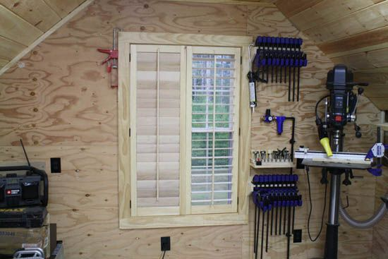 How to build plantation shutters woodworking projects for Plantation shutter plans