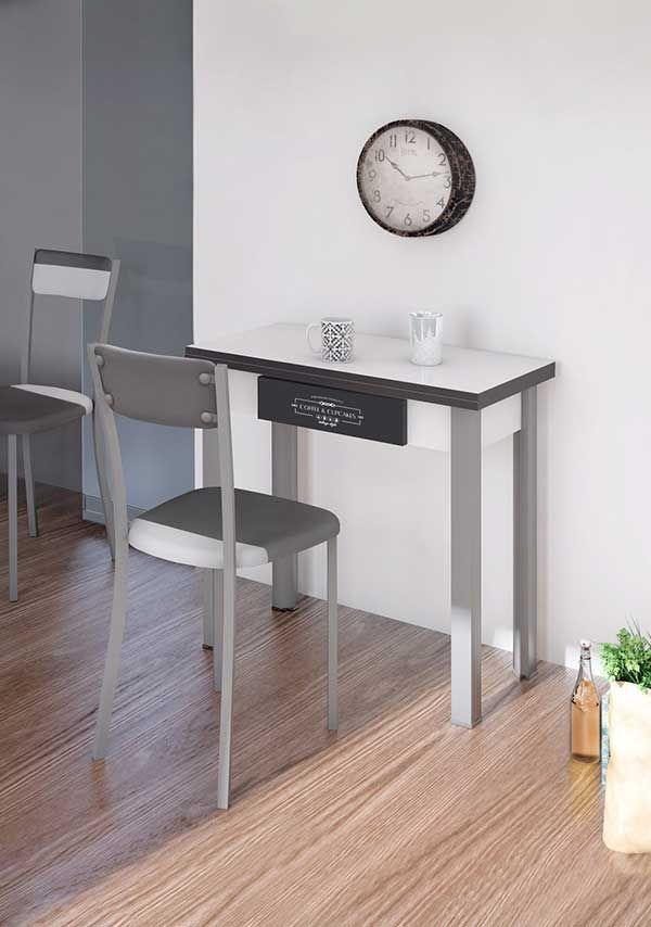 Mesas de cocina plegables, extensibles, modernas y baratas|Mil Ideas  #mobiliario #decoración