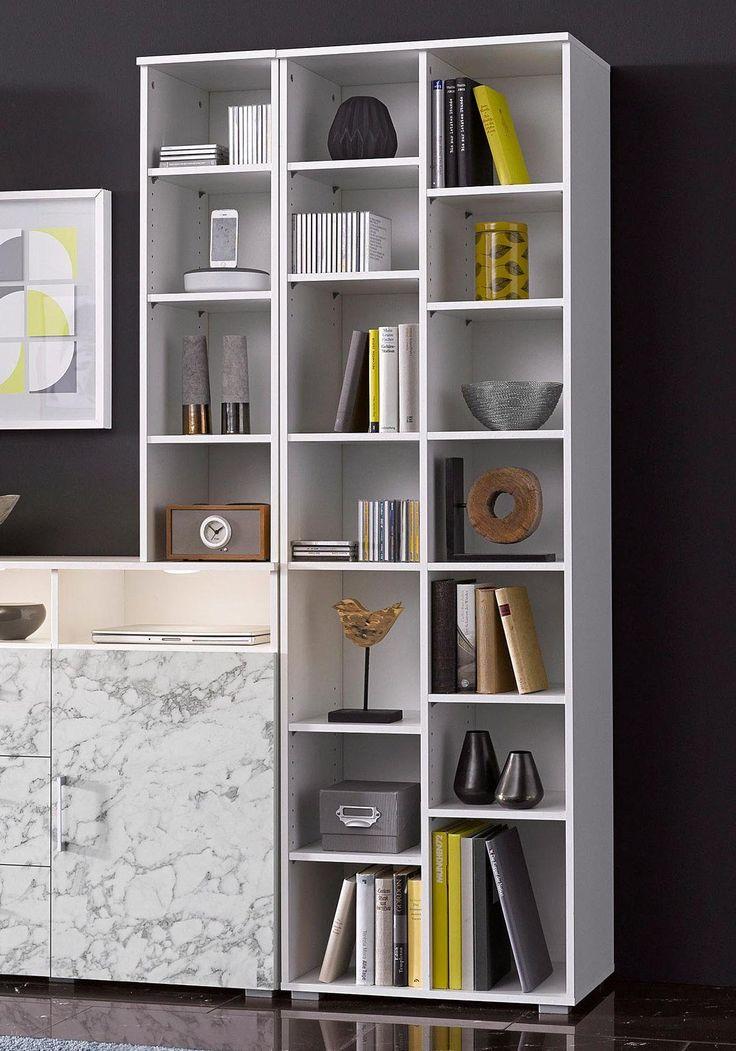 Die besten 25+ Standregal weiß Ideen auf Pinterest Cremeweißes - wohnzimmer regal weis