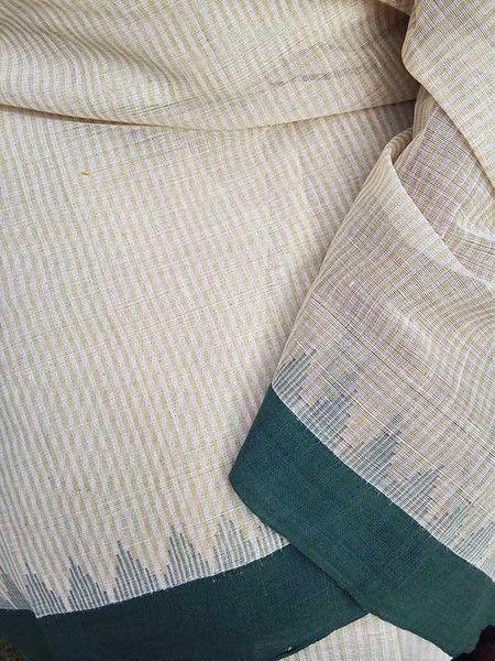 Elegant Woven Khadi Cotton Saree