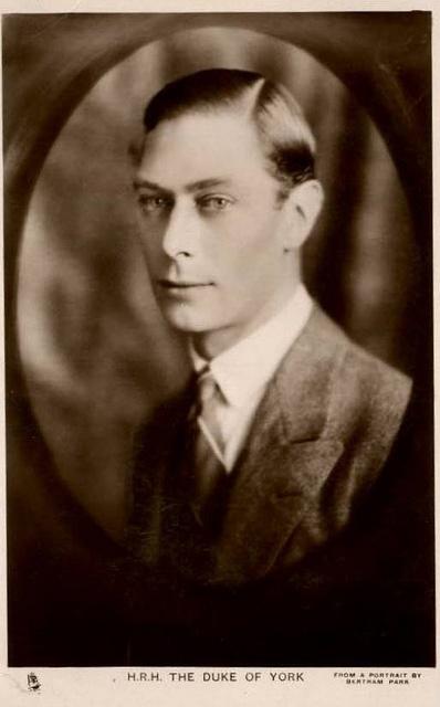 Albert, Duke of York, future King George VI