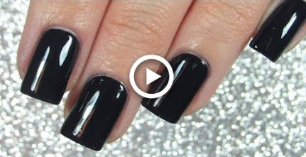 How To Paint Nails With Dark Nail Polish Perfectly