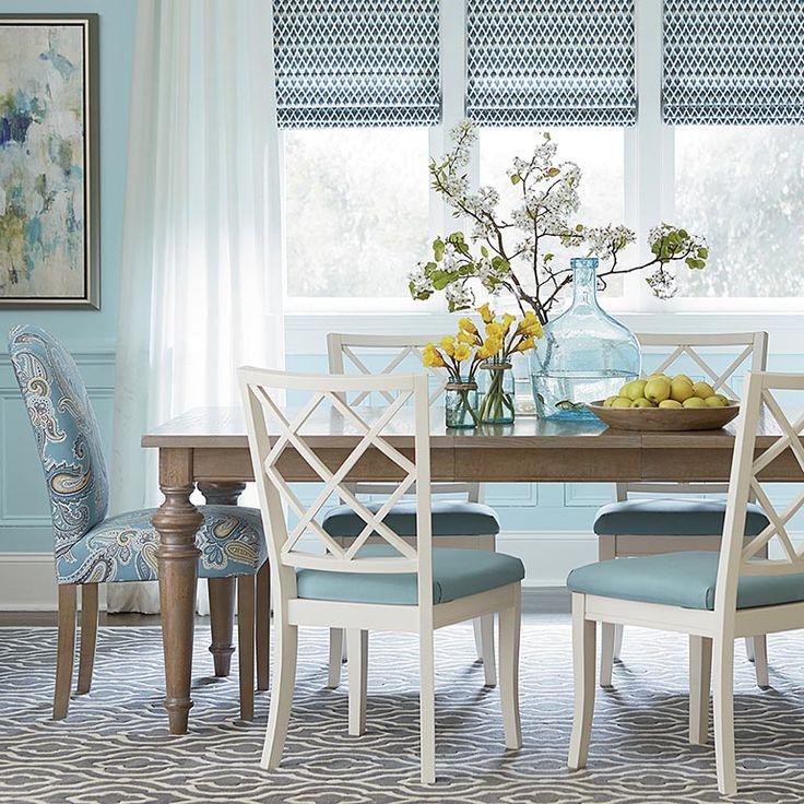 """42"""" Custom Leaved Rectangular Dining Table"""