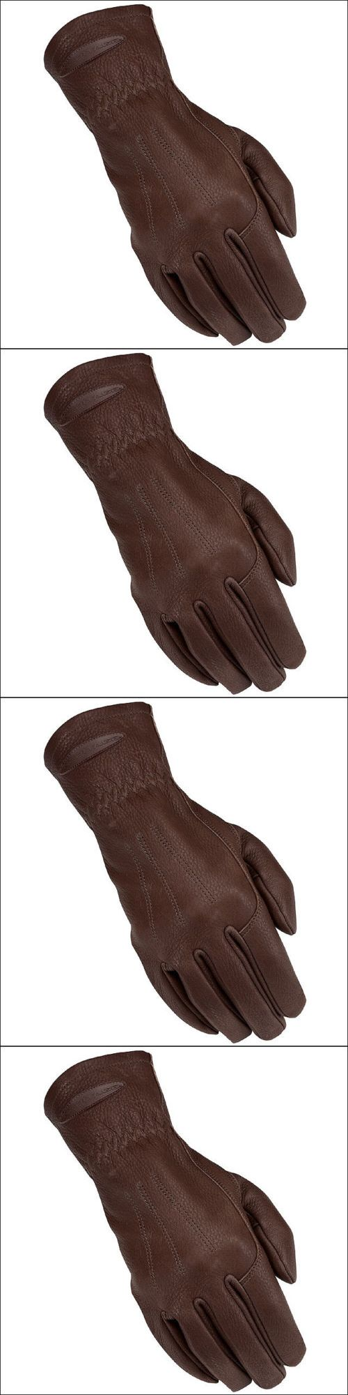 Ladies leather horse riding gloves - Riding Gloves 95104 09 Size Heritage Horse Carriage Driving Riding Glove Deer Skin Chocolate Brown