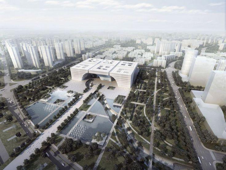 gmp architekten: changzhou culture
