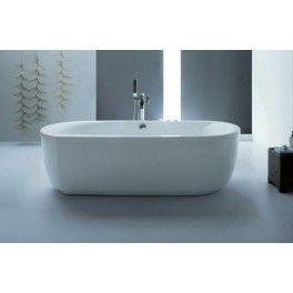 Maxi Freestanding Bath. This freestanding bath with a contemporary minimalistic design is ideal for a medium sized bathroom.  Description:  Dimension (MM): Bathtub1900 x 900 x 590 1700 x 850 x 580