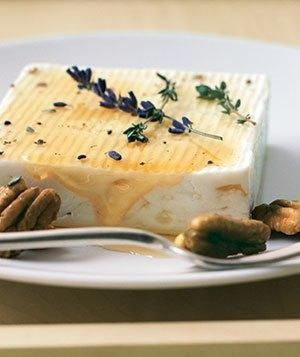 Honey-Soaked Feta  Nice Idea for a app at your #TalkDerbtToMe #TDTM2  Chef Robin White