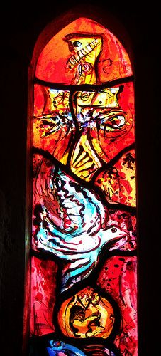 Window by John Piper and Patrick Reyntiens - detail