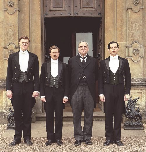 """Alfred Nugent (Mat Milne) - - James """"Jimmy"""" Kent (Ed Speleers) - - Mr Carson (Jim Carter) - - Thomas Barrow (Rob James Collier) - - Downton Abbey"""