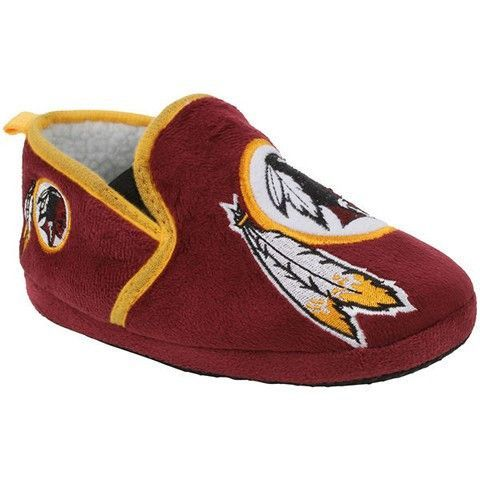 38ffac25983 Washington Redskins Official NFL 8-16 Youth Sherpa Slippers