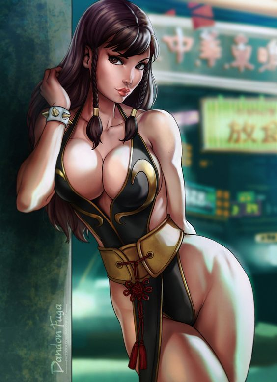 Chun Li is a bae  #streetfighter #sf5