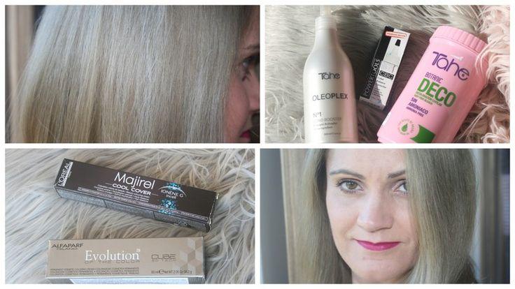 Kolejne farbowanie po rozjaśnianiu, zielone włosy, korektor koloru CBC, Oleoplex i o tym, że w życiu nie zawsze wszystko się układa!