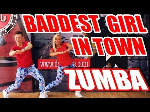 ZUMBA - BADDEST GIRL IN TOWN - PITBULL #ZUMBA #DANCE - YouTube