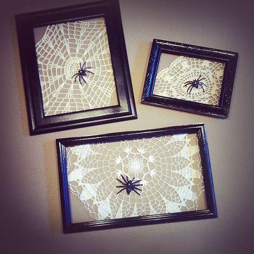 Over twee dagen is het #Halloween; leuk dus om je #huis daar een klein beetje op in te richten met simpele #accessoires en #decoratie die je ook zelf kunt maken!