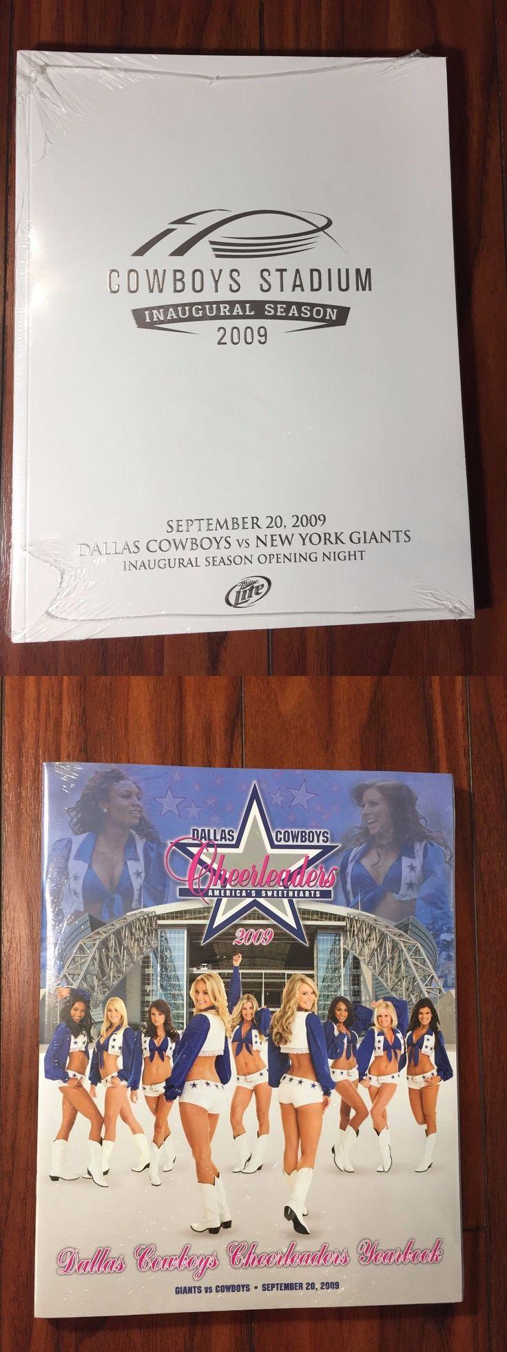 Football-Other 37753: Dallas Cowboy Stadium Inaugural Season Program 2009 -> BUY IT NOW ONLY: $30 on eBay!