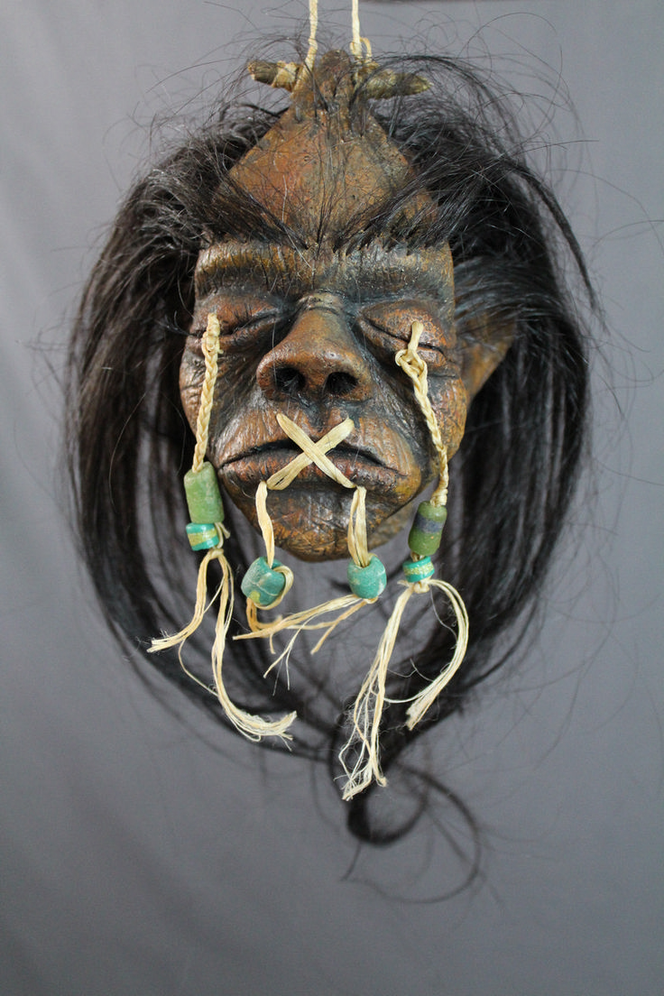 Dapper Cadaver - Deluxe Shrunken Head, $120.00 (http://www.dappercadaver.com/products/deluxe-shrunken-head.html)
