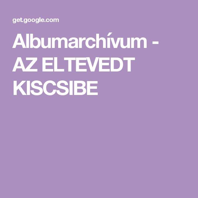 Albumarchívum - AZ ELTEVEDT KISCSIBE