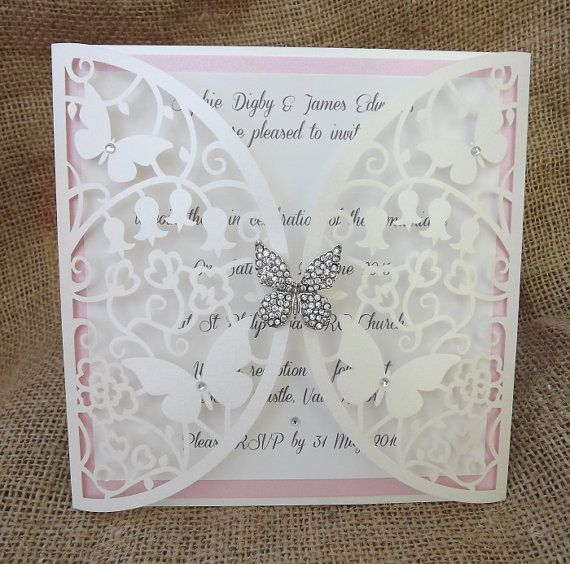 the 25+ best butterfly wedding invitations ideas on pinterest, Wedding invitations