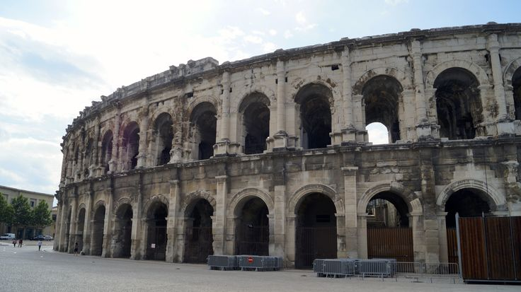 We walked around the corner and found The Arènes of Nîmes