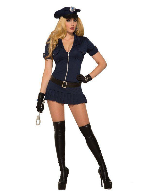 Dreamgirl Womens Lieutenant Ivana Misbehave Costume