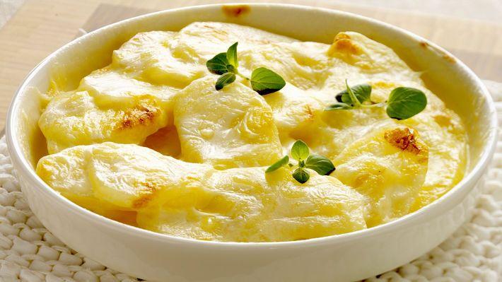 MatPrat - Fløtegratinerte poteter