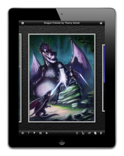 Inspire Pro: Oil Painting app for the iPad
