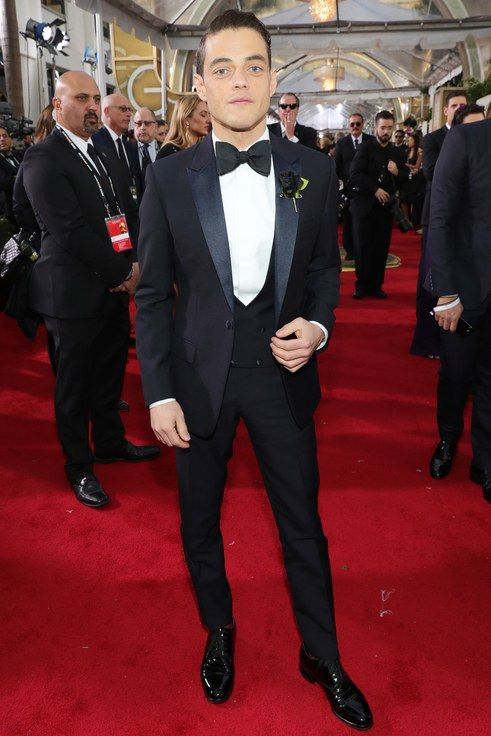 Rami Malek in Dior Homme