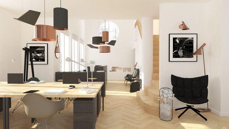 design office in copper   kancelář v mědi