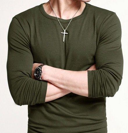 Round Neck Casual T-shirt. Item NO. XXX000389143N