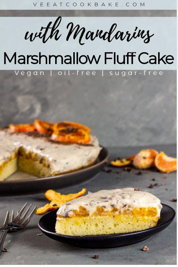 Comment faire un gâteau moelleux végétalien à la guimauve avec du chocolat râpé, un beurre de noix …   – vegan DESSERT RECIPES – plantbased