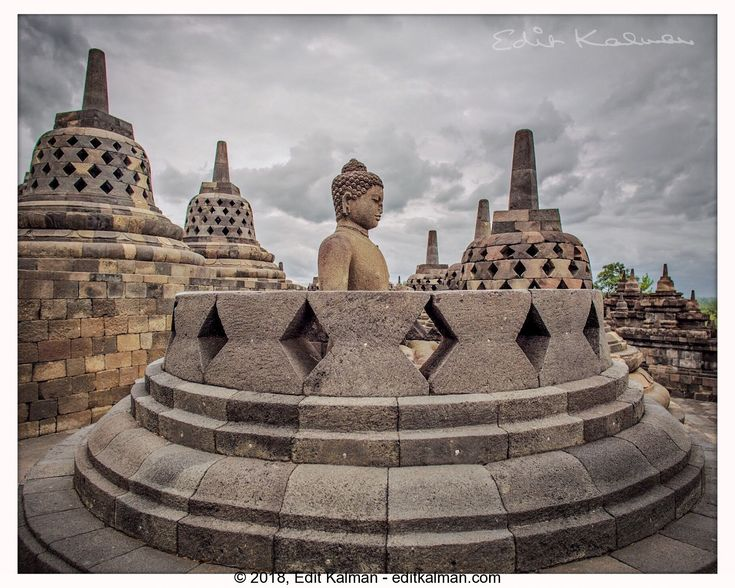 The Path of the Buddha #Ancient, #Asia, #Borobudur, #Buddha, #Buddhism, #Buddhist, #Heritage, #Holy, #Indonesia, #Jogja, #Pilgrimage, #Sculpture, #Statue, #Temple, #Tourism, #Travel, #Yogyakarta - https://goo.gl/umKfEC