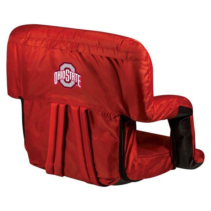 Portable Stadium Seats NCAA Ohio State Buckeyes Red