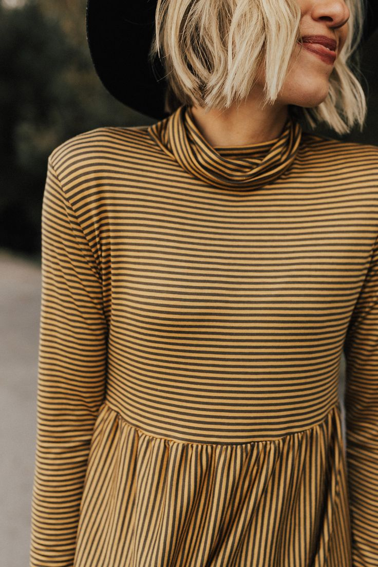 Autumn Striped Shirt | ROOLEE