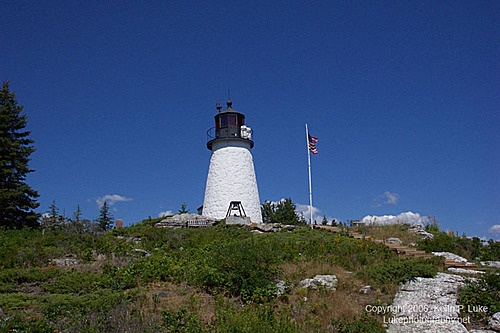 Burnt Island Light - Boothbay Harbor, Maine