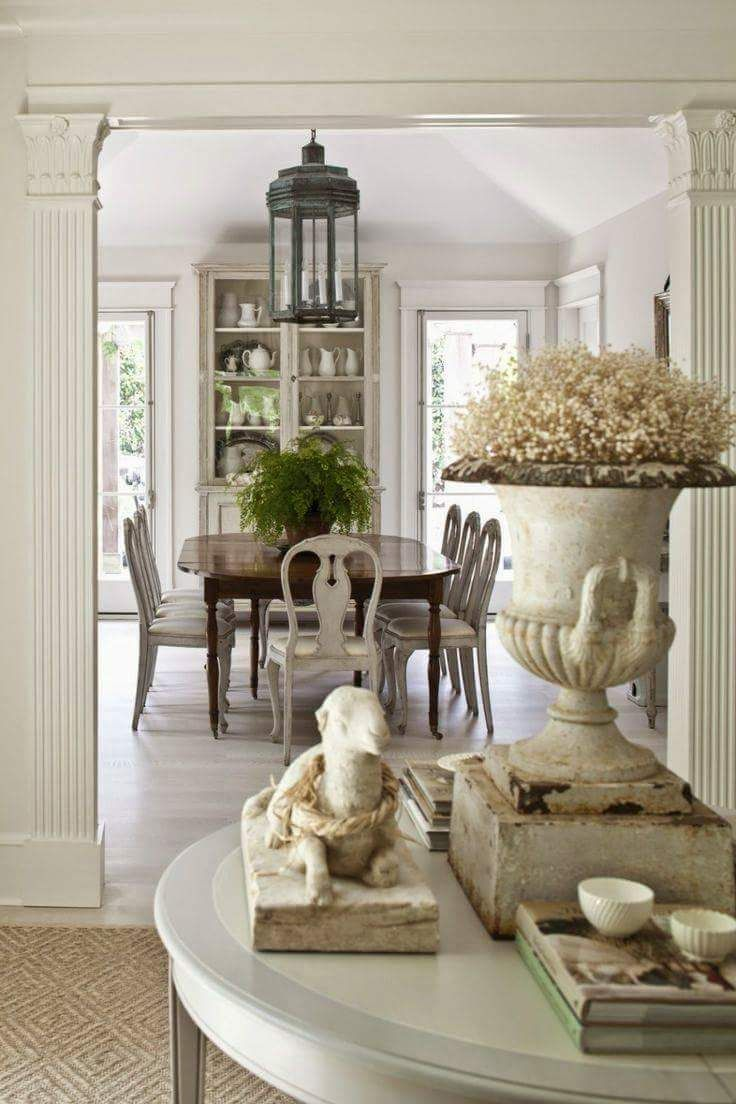 17 best ideas about modern french country on pinterest for French dining room