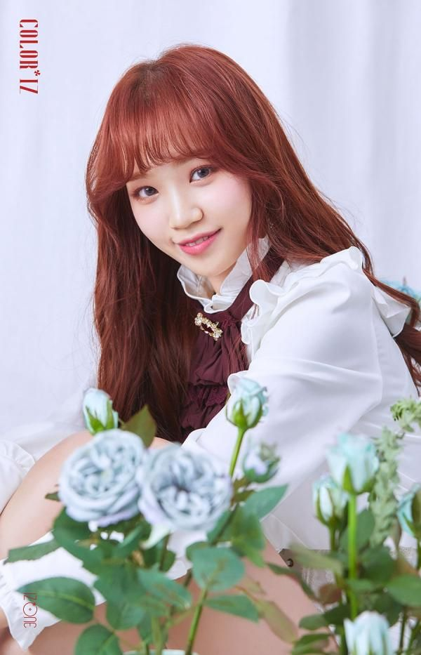 Kim Chaewon Kpop Girl Groups Color Chaeyeon 10iz members profile and facts: pinterest