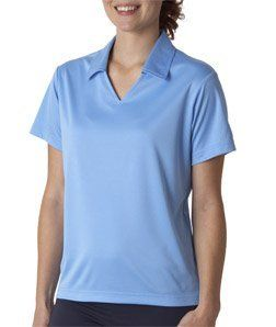 UltraClub Women's Perfect Sport Polo Shirt, Columbia Blue, XX-Large UltraClub. $25.95