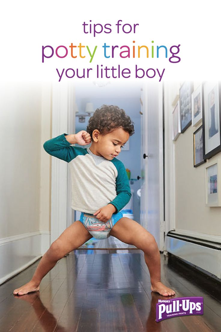 Are you and your little boy ready to begin the potty training journey together? If so, make the transition easier with these potty training tips for toddler boys. From picking out a pair of his very own big boy Pull-Ups® training pants together to figuring out his potty training personality, there are so many ways to set him up for potty training success!