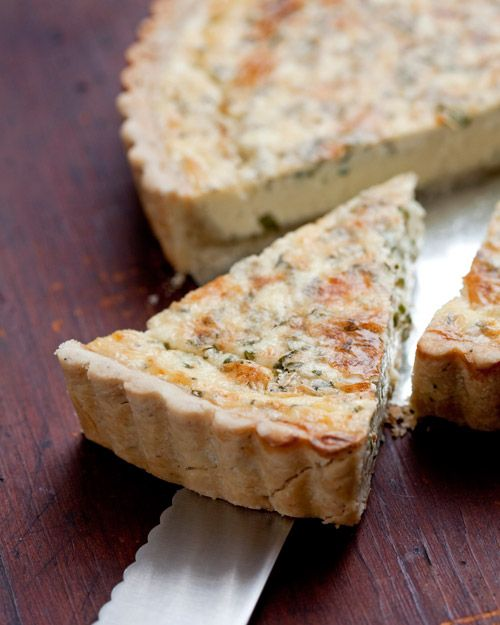 perfect savory crust recipe: mix in fresh herbs, garlic, shallots, etc // used this for a galette. a+