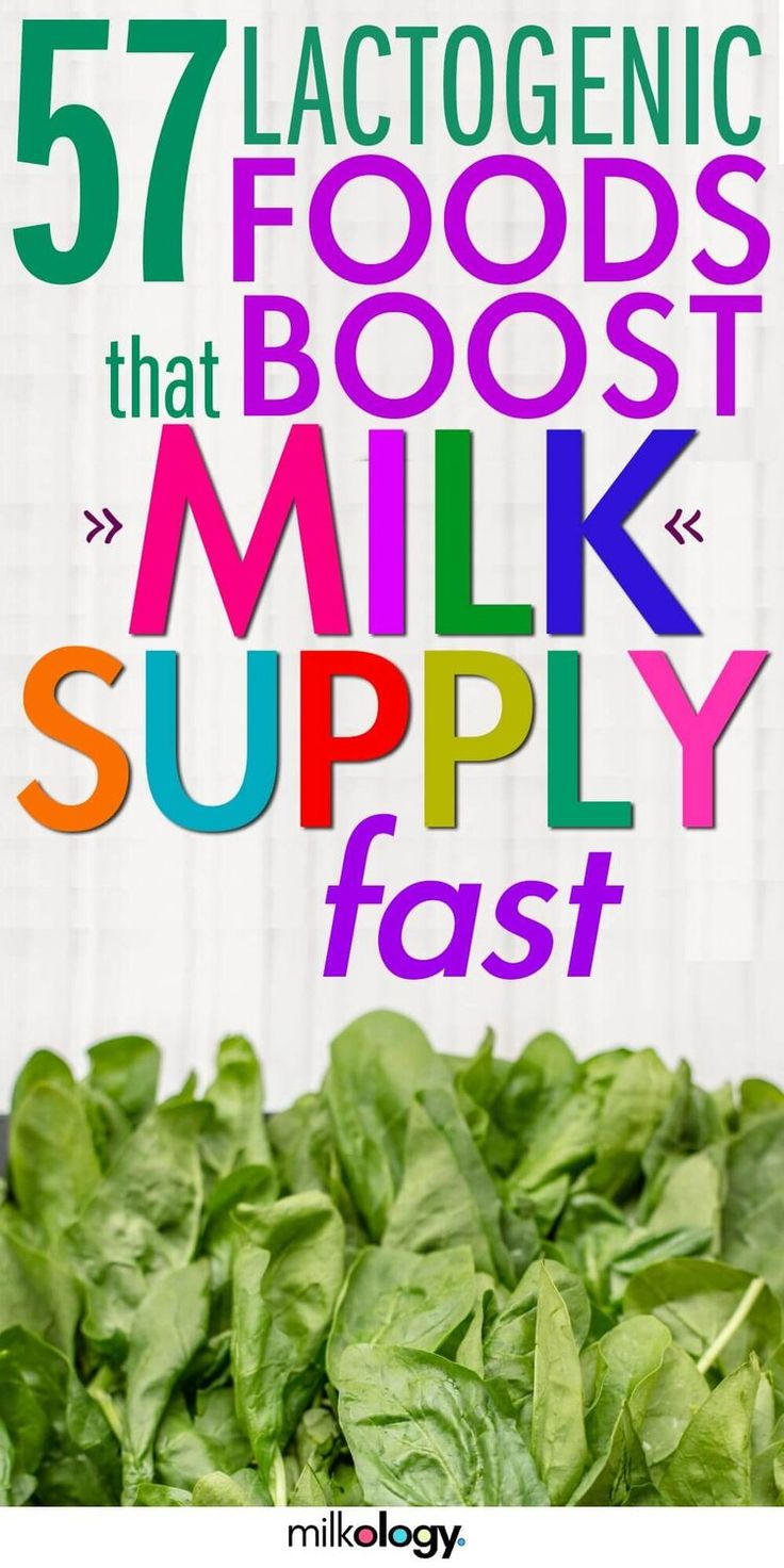 57 Lactogenic Foods to Increase Milk Supply Boost milk