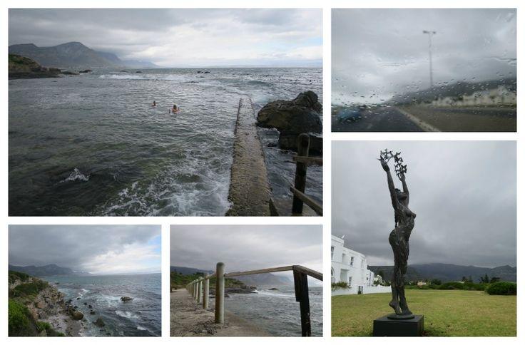 Grey day at the Marine Pool Hermanus