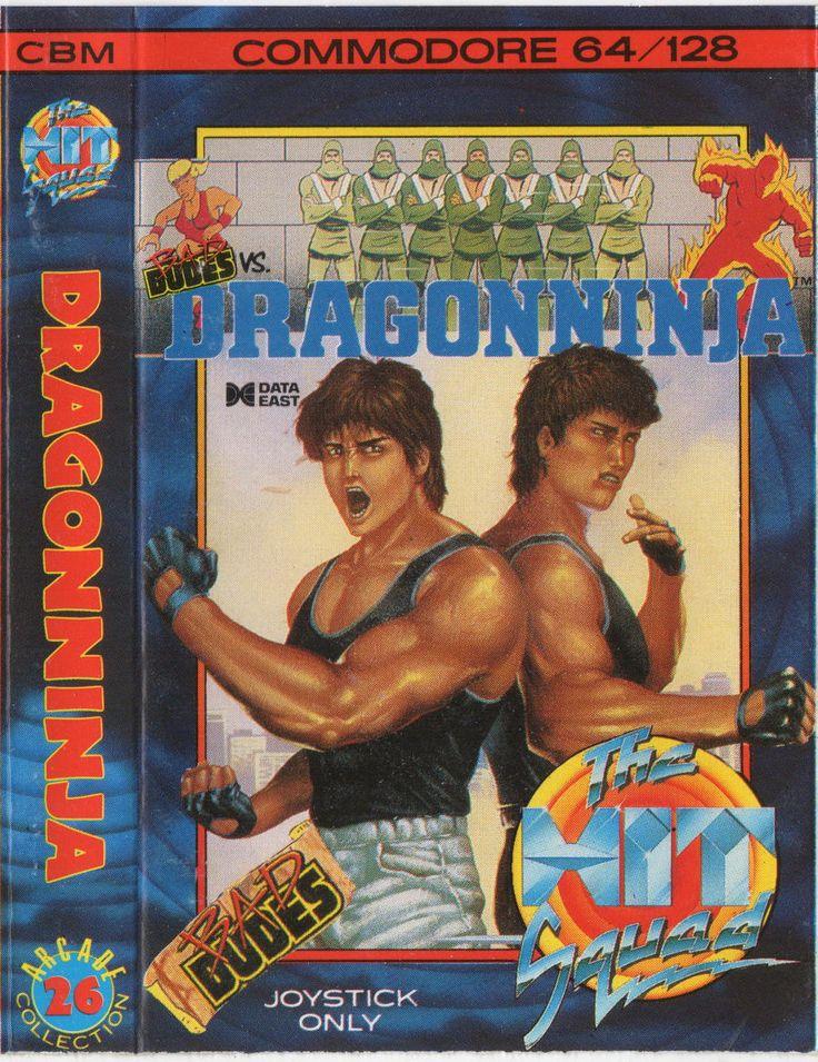 Dragon Ninja (C64)
