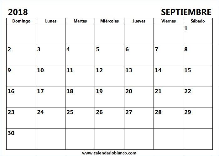 22 best calendario images on pinterest calendario septiembre 2018 para imprimir urtaz Gallery