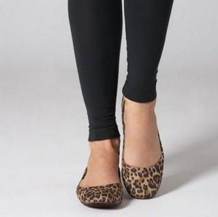 Trend alert: Animal print ballet pumps. Find out which celebs are wearing them and how you can get this look right...