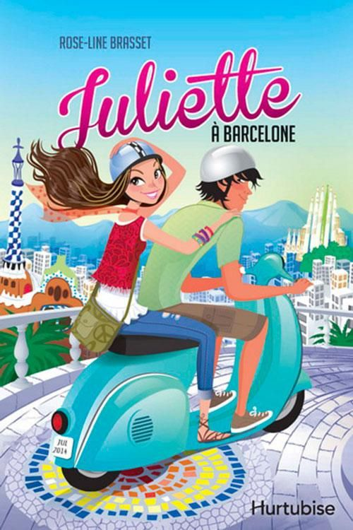 Juliette à Barcelone, de Roseline Brasset. Roman jeunesse, littérature.