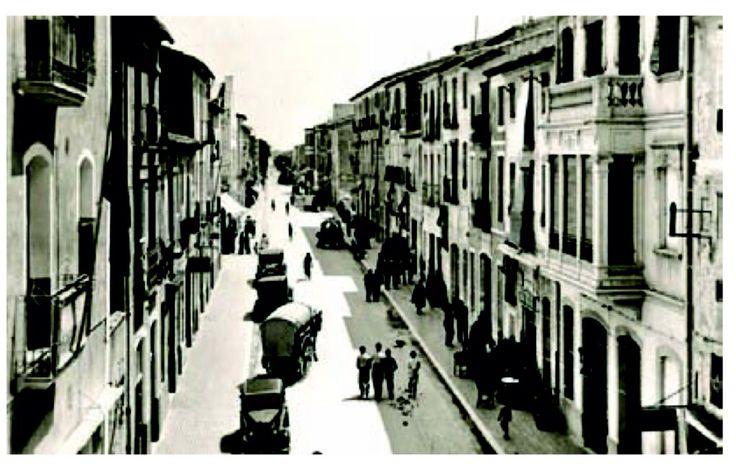 Villajoyosa, Calle Colon, début du 20 ème siècle.