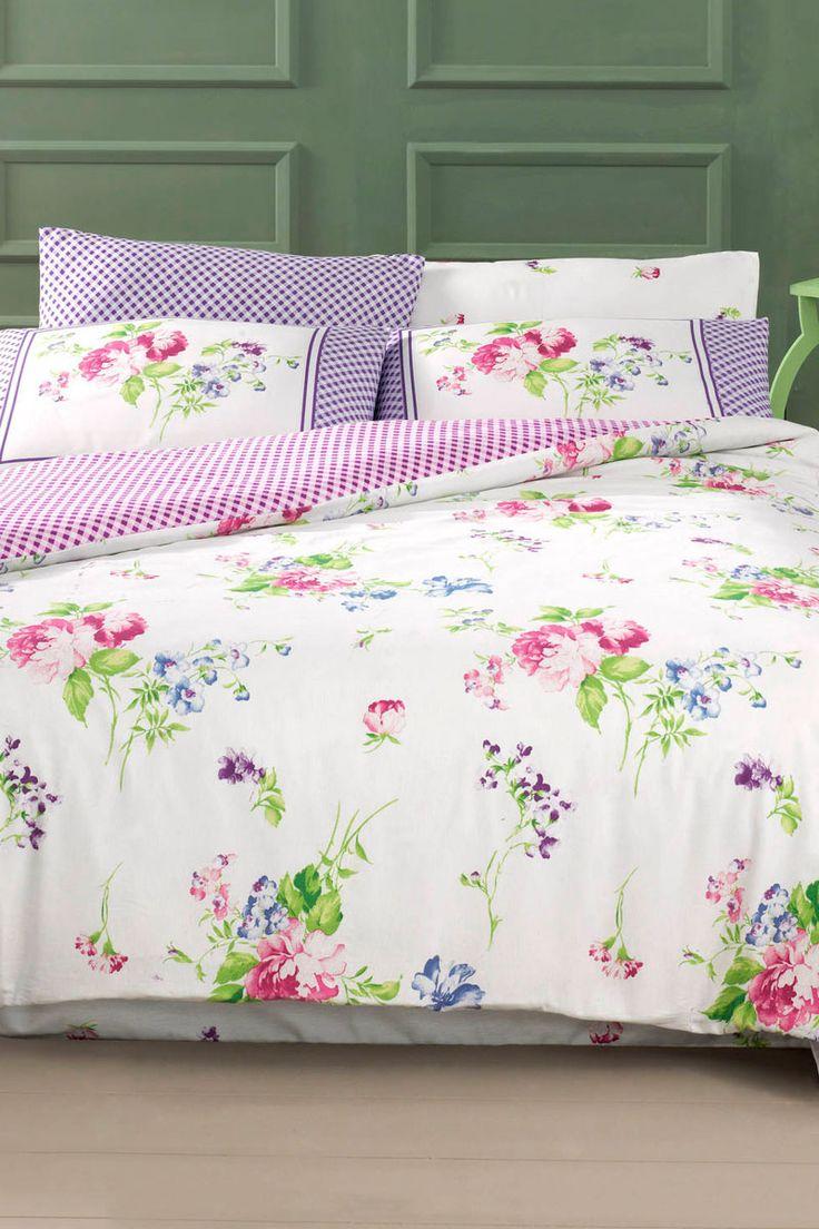 linge de lit vente Vente DREAMNIGHTS / 22744 / Linge de lit / Motifs fleuris / Parure  linge de lit vente