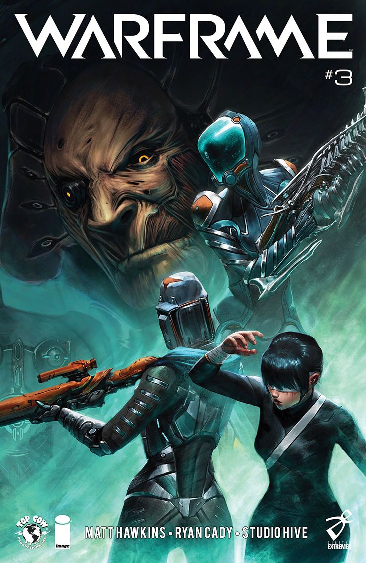 #Warframe #3 #TopCow #Image @TopCow (Cover Artist: Studio Hive) Release Date: 1/24/2018