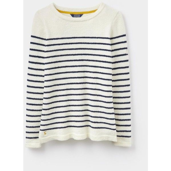 Seaham Creme Chenille Sweater | Joules US ($73) ❤ liked on Polyvore featuring tops, sweaters, cream top, joules sweater, chenille sweater, joules tops and cream sweater