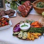 I'd like to thank ALDI for sponsoring this post about my recent summer party and this useful vegetarian cookout menu. Thank you for supporting posts like this that keep Running in a Skirt going! Stay tuned for a $250 dollar ALDI gift card giveaway next Tuesday. This past weekend I hosted a party to kick